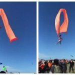 पतंग के साथ आसमान में उड़ गई 3 साल की बच्ची, परिवार के साथ काइट फेस्टिवल देखने गई थी