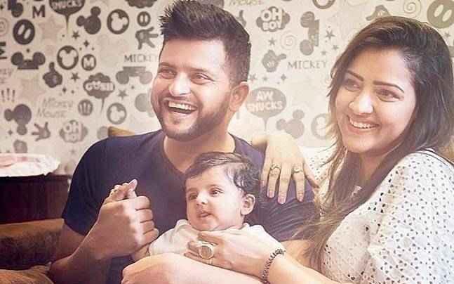 Suresh and Priyanka Raina