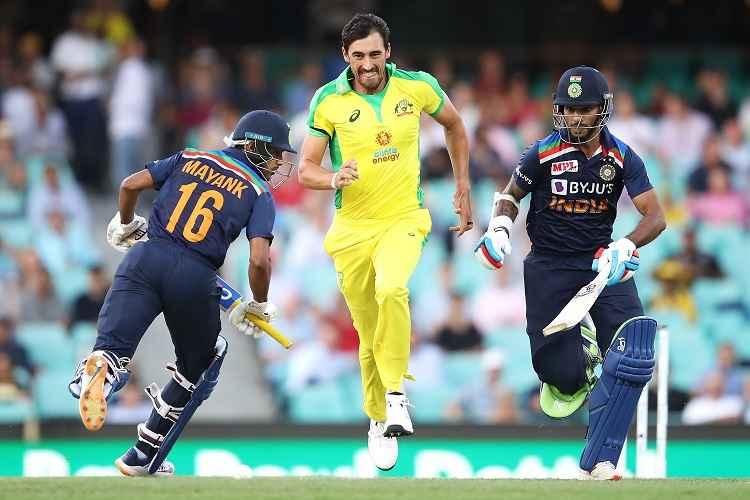 भारत के 8 बल्लेबाज 30 रन भी नहीं छू सके, नतीजा पहले वनडे में आस्ट्रेलिया ने 66 रन से हराया