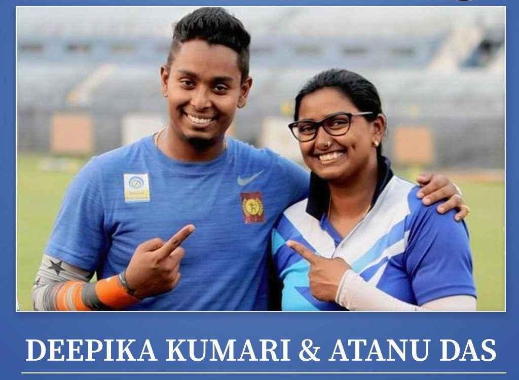 तीरंदाजी विश्वकप में पति-पत्नी की जोड़ी ने जीता गोल्ड मेडल, रोमांचक है नंबर वन दीपिका और अतनु की लवस्टोरी