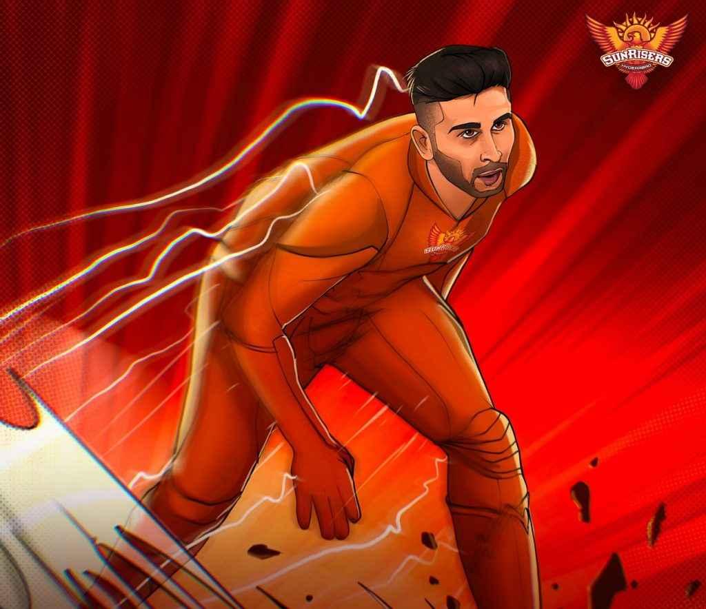 उमरान मलिक IPL 2021 के सबसे तेज गेंदबाज बने, जानें फास्टेस्ट डिलीवरी पर कितने रन बने