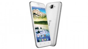 Intex first Android smartphone