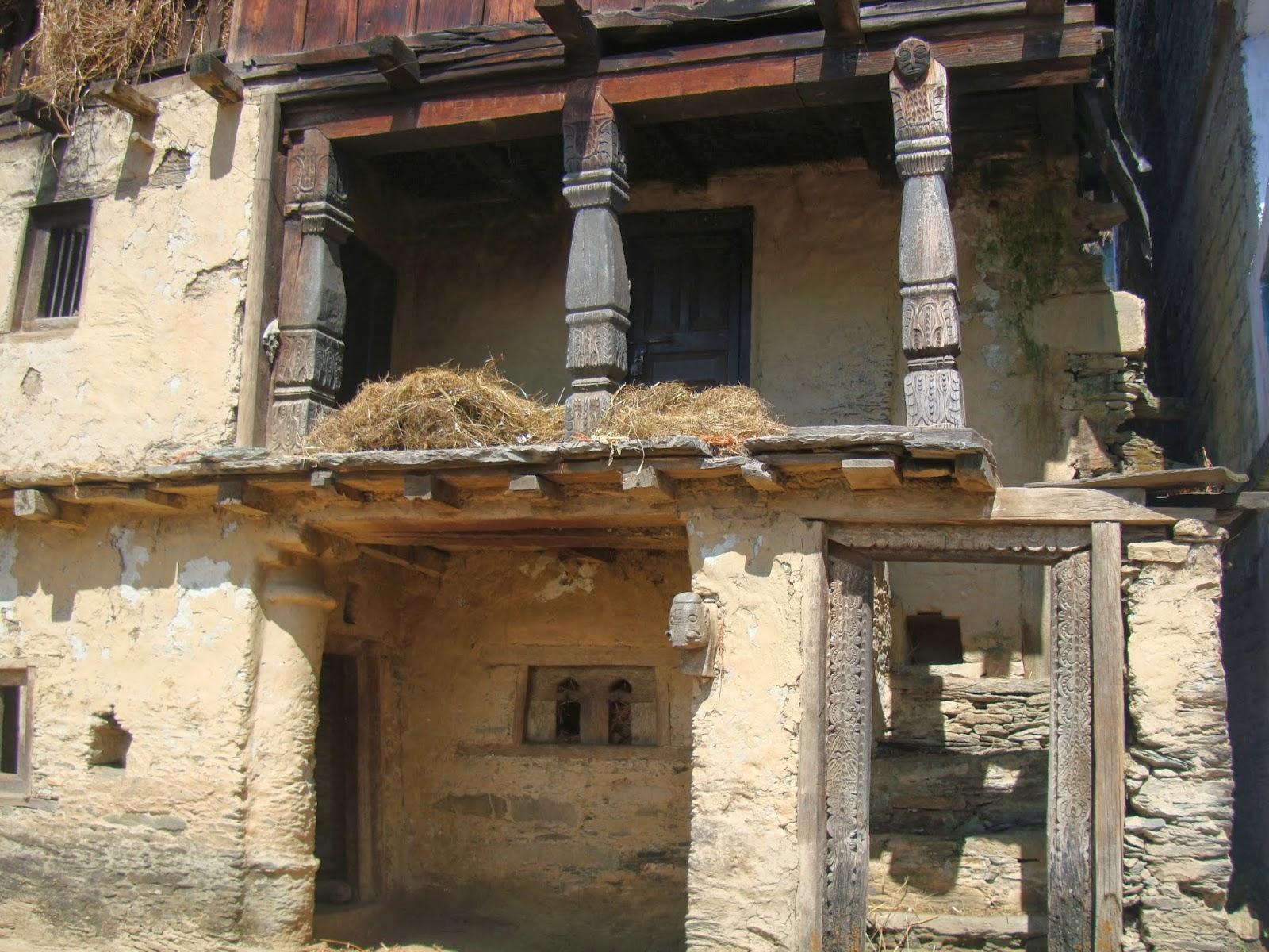 Damaged house of Mamata