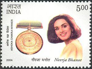 Ashoka-Chakra-Winners---Neerja-Bhanot-and-Randhir-Prasad-Ver