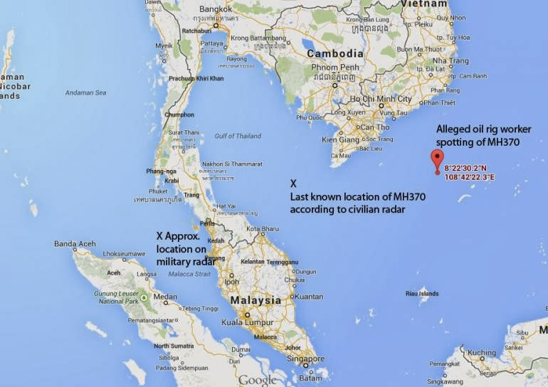 Missing Plane MH370