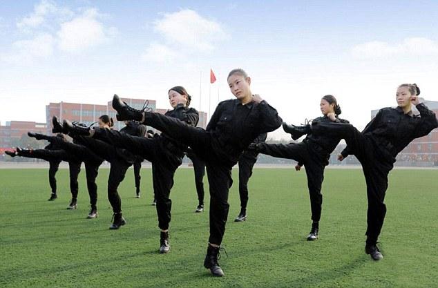 Combat Training For Stewardesses