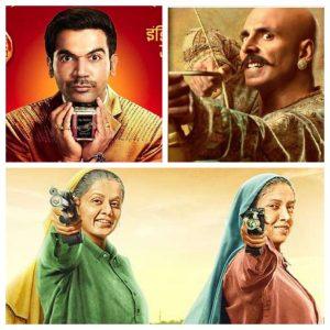 अगले तीन दिनों में देखिए तीन बड़ी फिल्मों के बीच भयंकर टक्कर, अक्षय कुमार और राजकुमार राव से भिड़ेंगी तापसी और भूमि